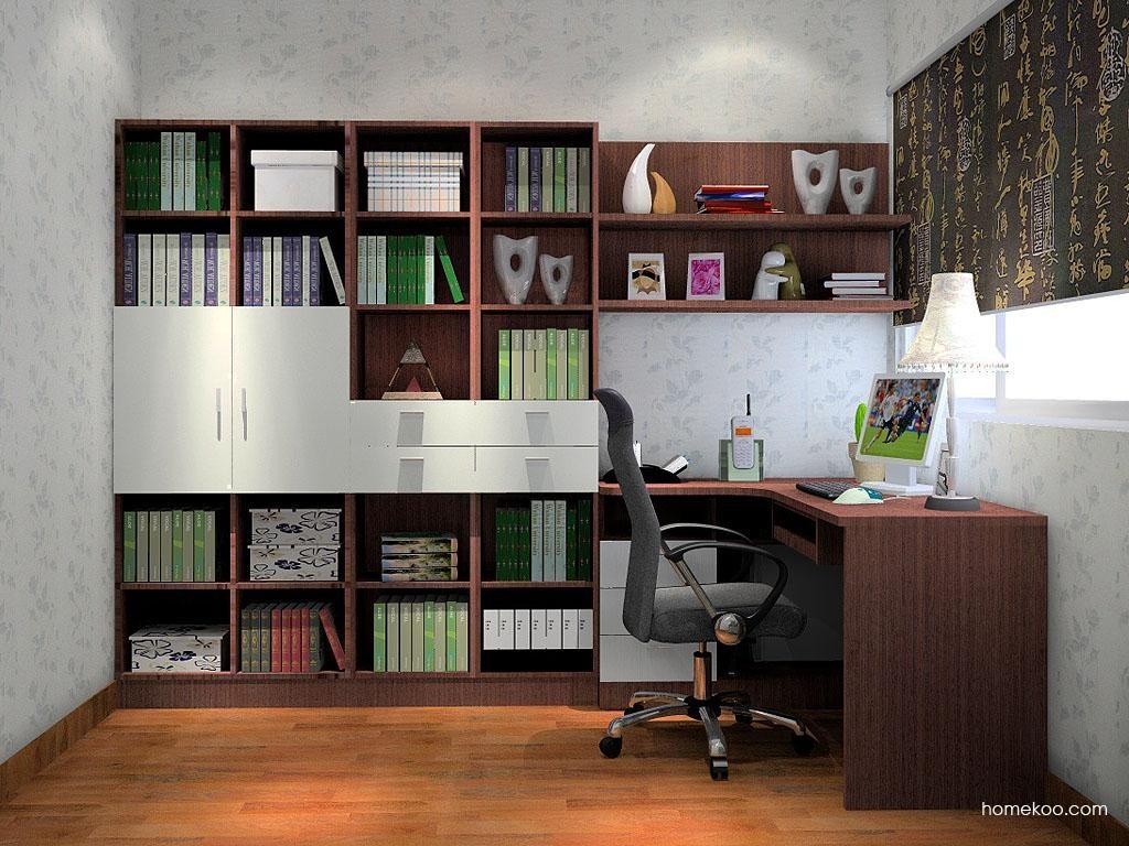 新实用主义书房家具C3453