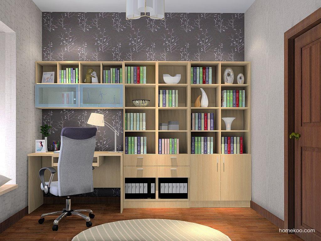 新实用主义书房家具C3468