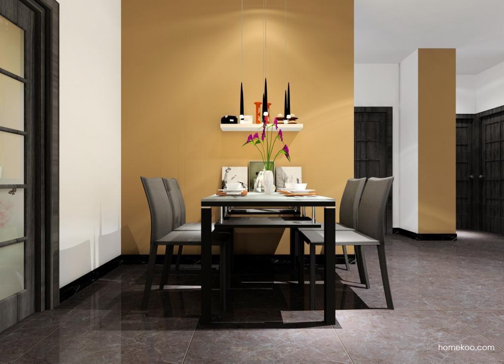 简约主义餐厅家具E0722