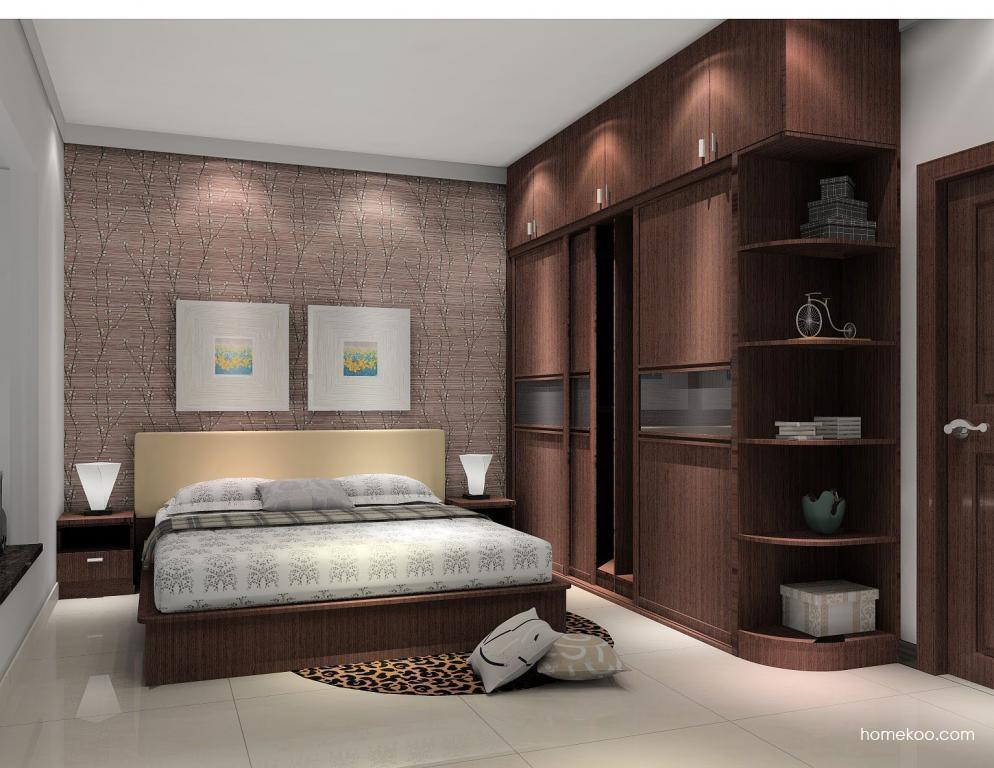 新实用主义卧房家具A5956