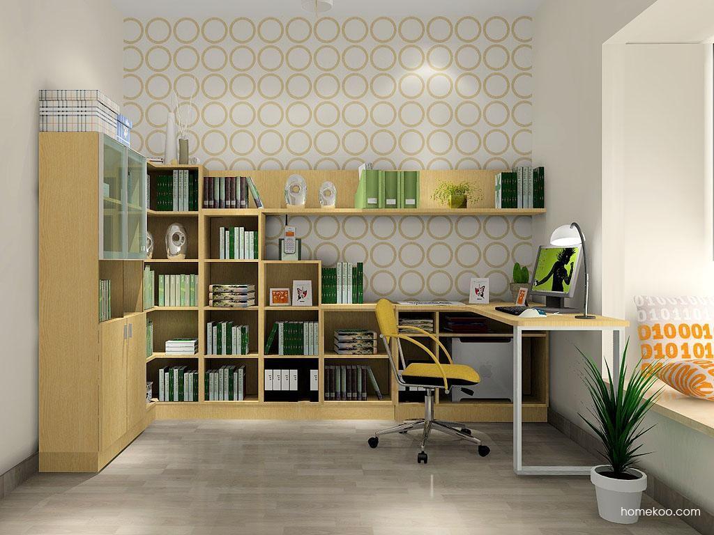 新实用主义书房家具C3472