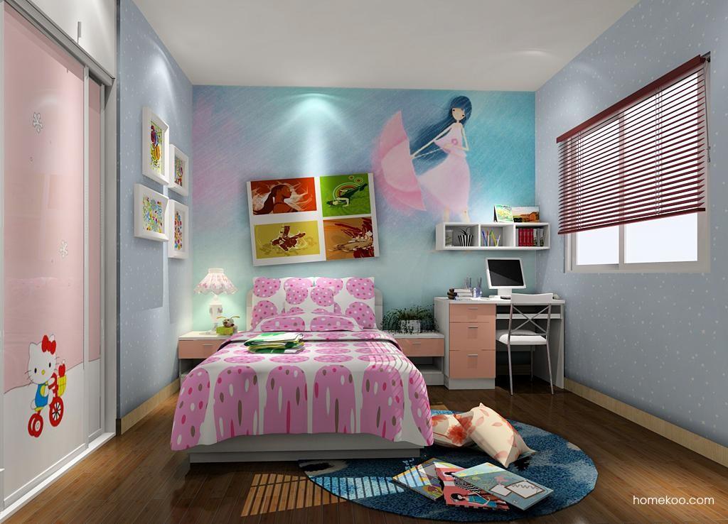 女孩的梦青少年房B3841