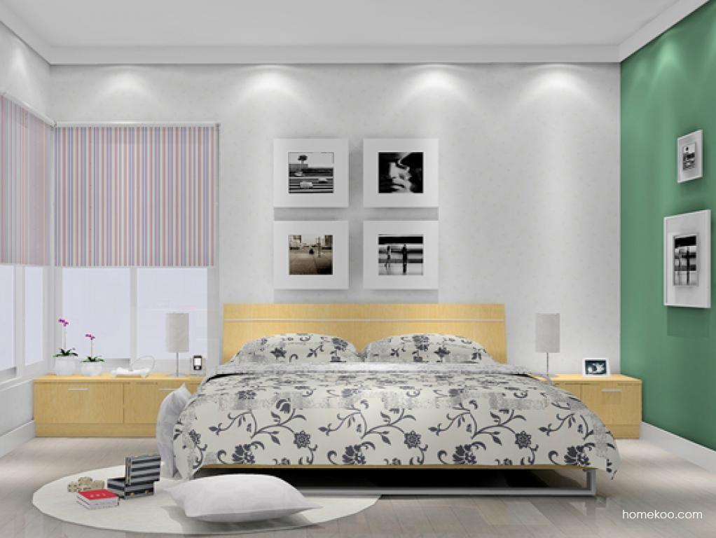 新实用主义卧房家具A5986