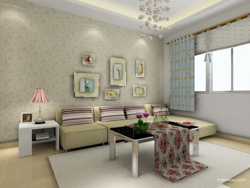 浪漫主义客厅家具D0515