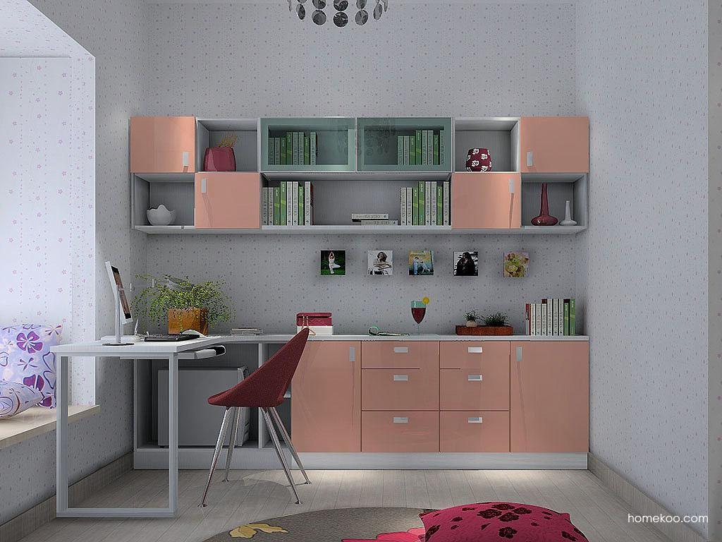 浪漫主义书房家具C3479