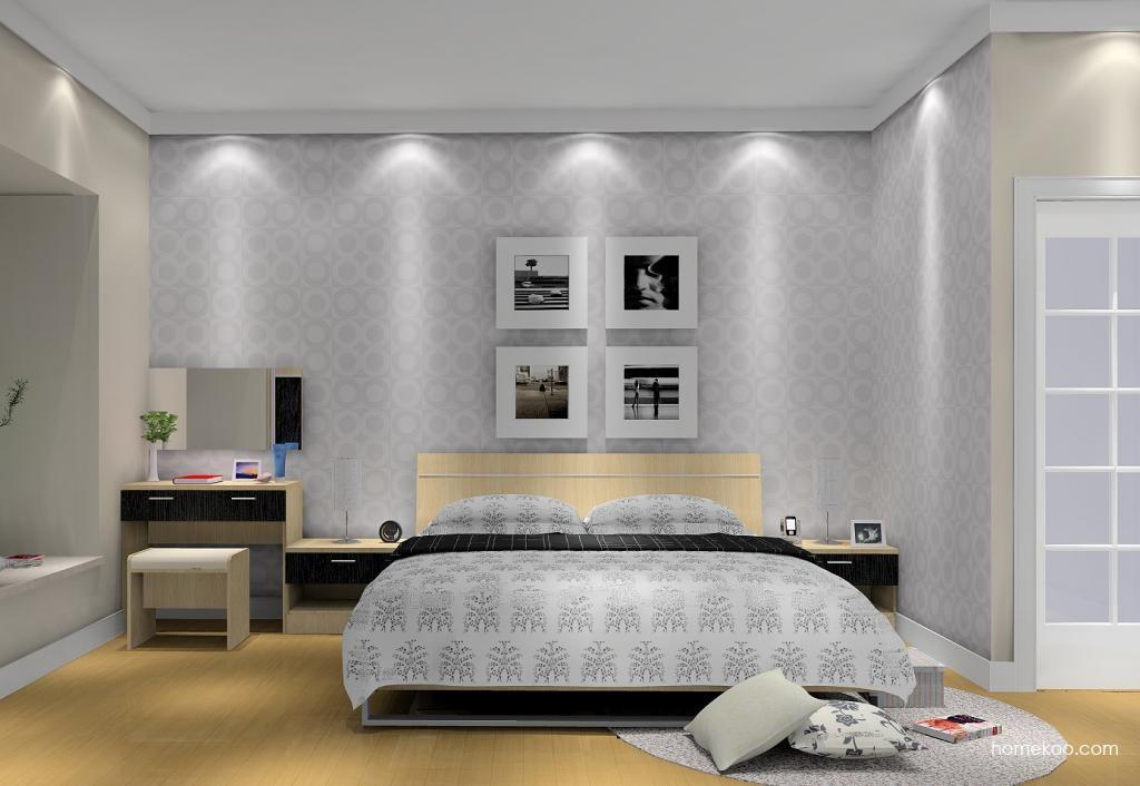 新实用主义卧房家具A6001