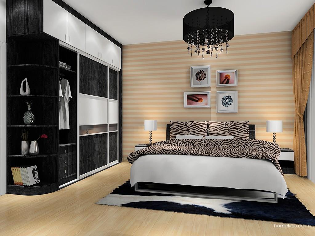 简约主义卧房家具A6023