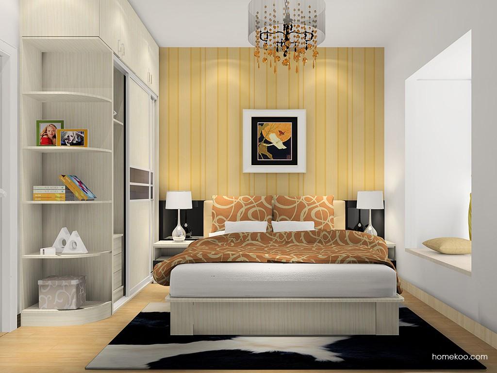 米兰剪影卧房家具A6029