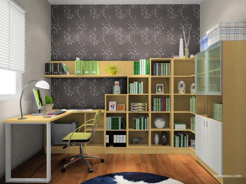 新实用主义书房家具C3498