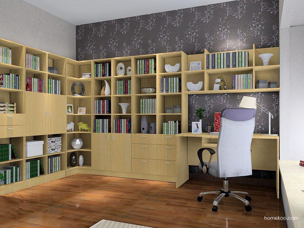 新实用主义书房家具C3501
