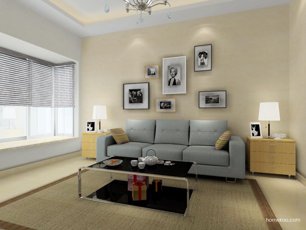 新实用主义客厅家具D0538