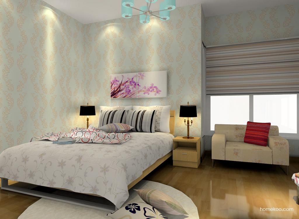 新实用主义卧房家具A6134