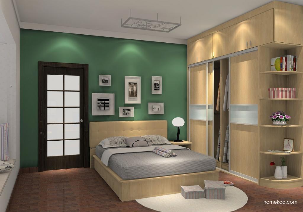 新实用主义卧房家具A6164