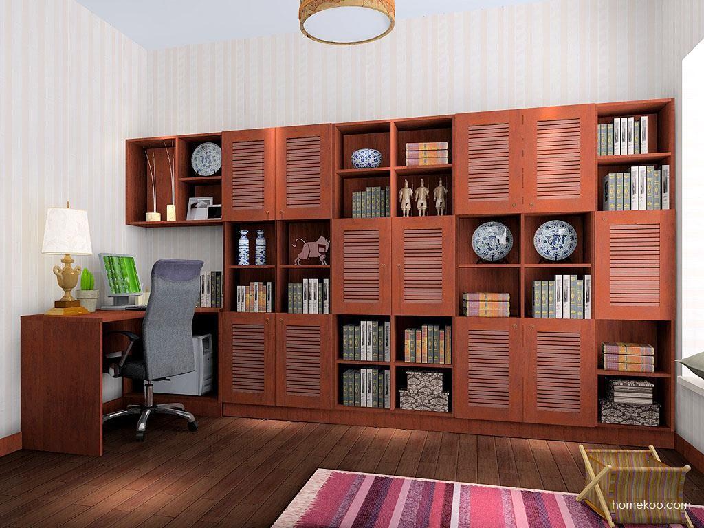 新中式主义书房家具C3521
