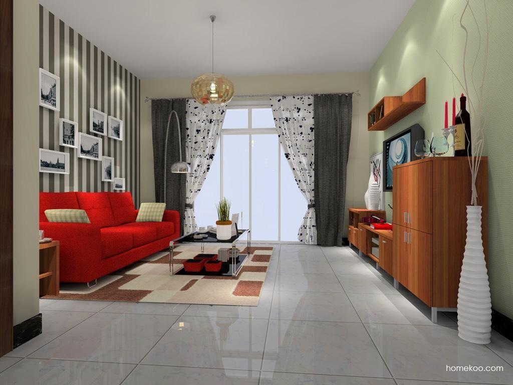 新实用主义客厅家具D0564
