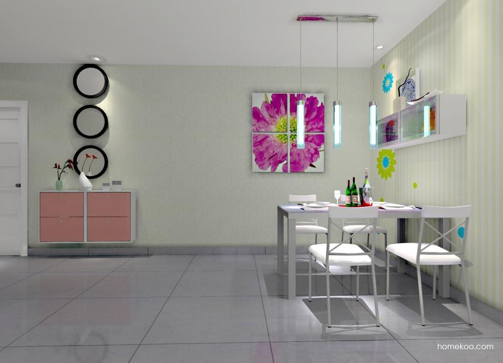 浪漫主义餐厅家具E0804