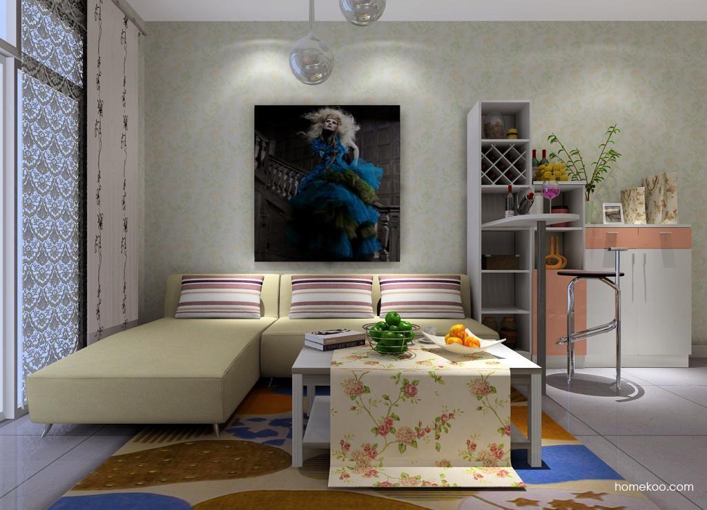 浪漫主义客厅家具D0579