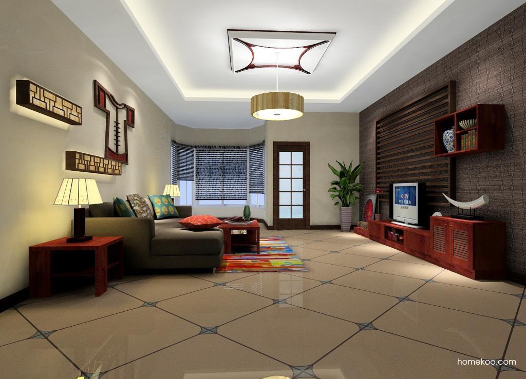 新中式主义客厅家具D0585