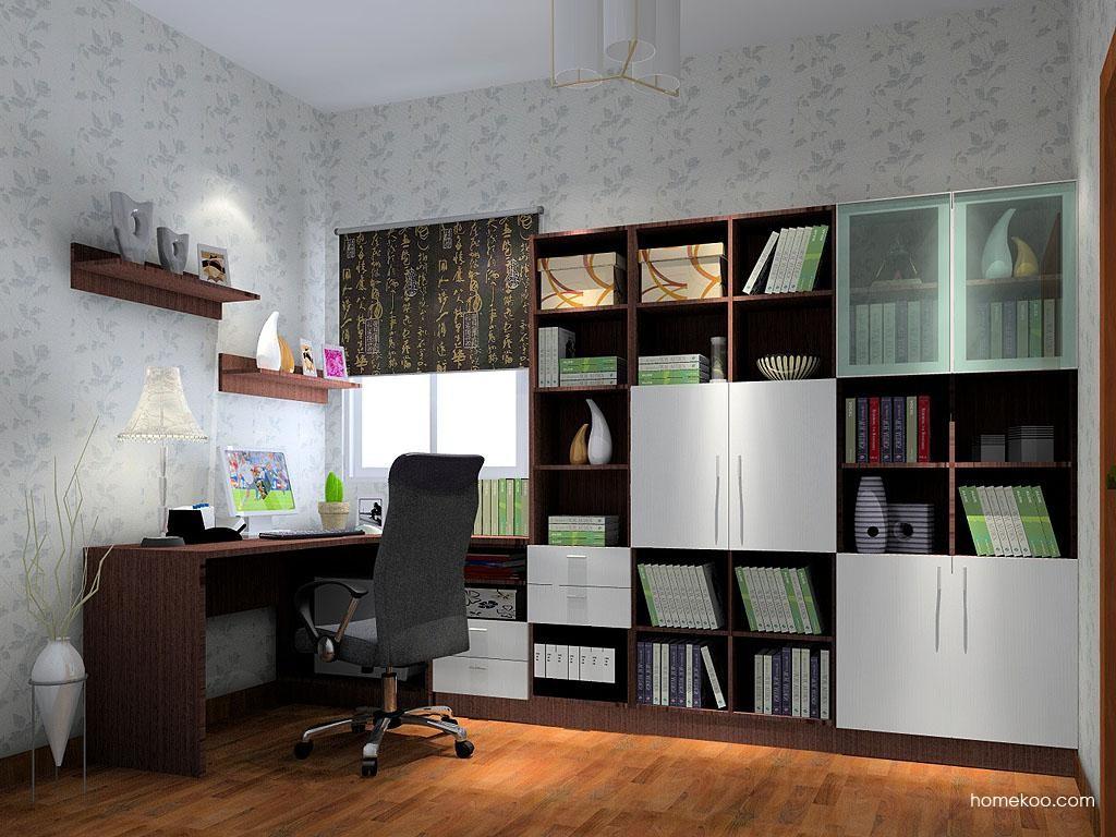 新实用主义书房家具C3557