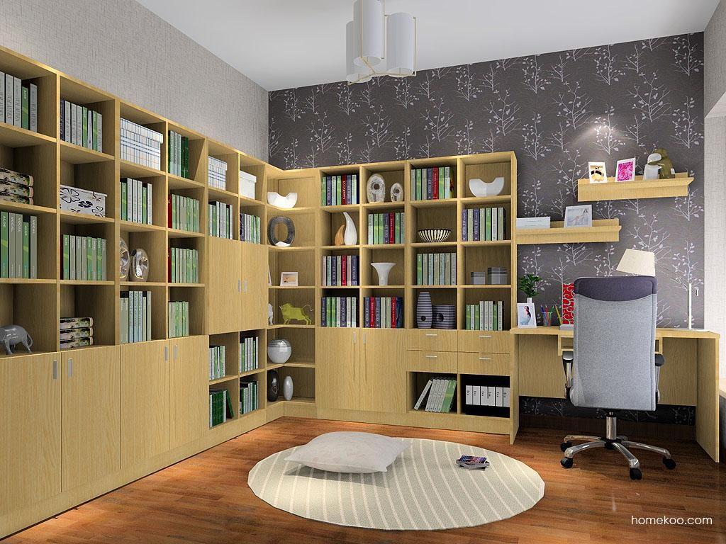 新实用主义书房家具C3553
