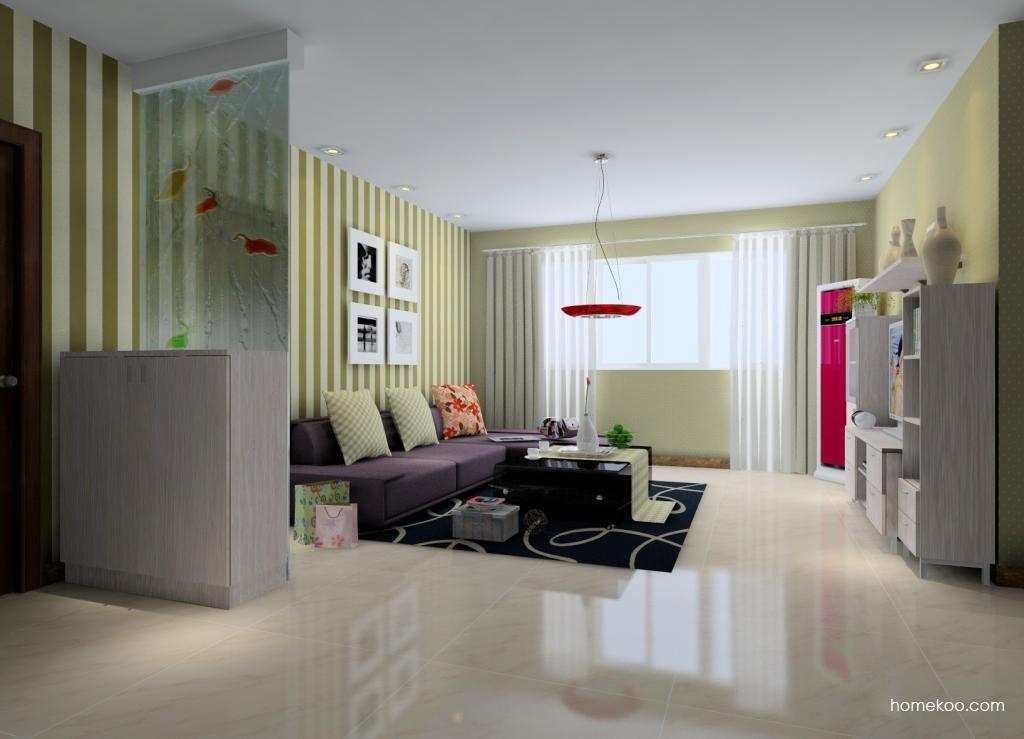新实用主义客厅家具D0587