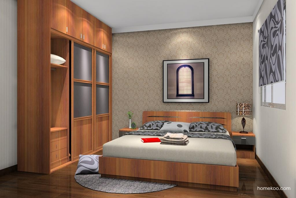 新实用主义卧房家具A6234