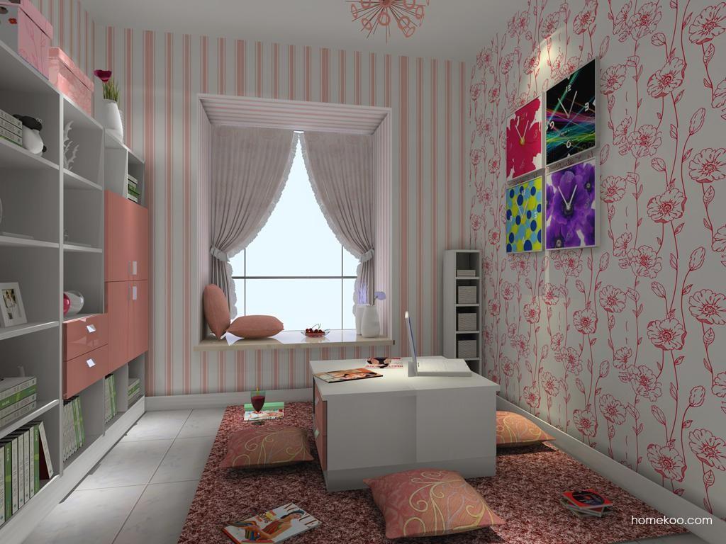浪漫主义书房家具C3563