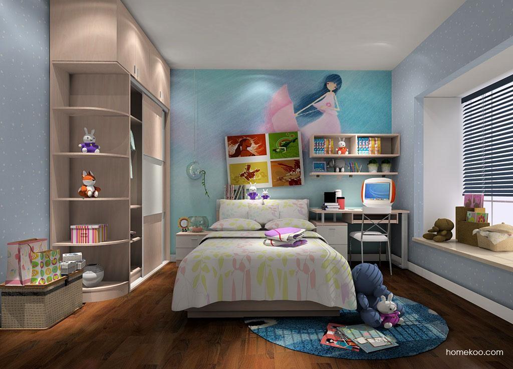女孩的梦青少年房B3929