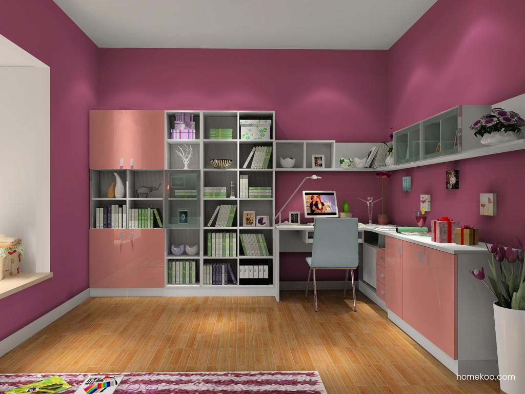 浪漫主义书房家具C3572