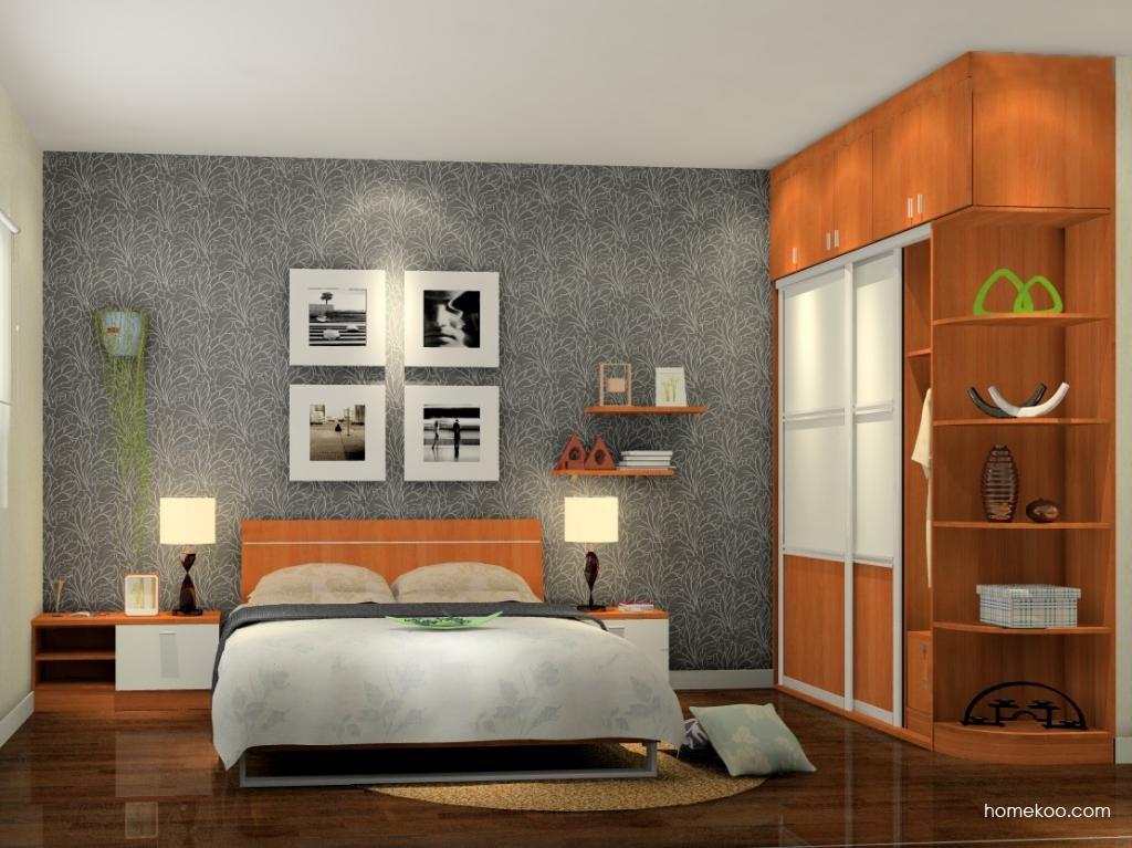 新实用主义卧房家具A6318