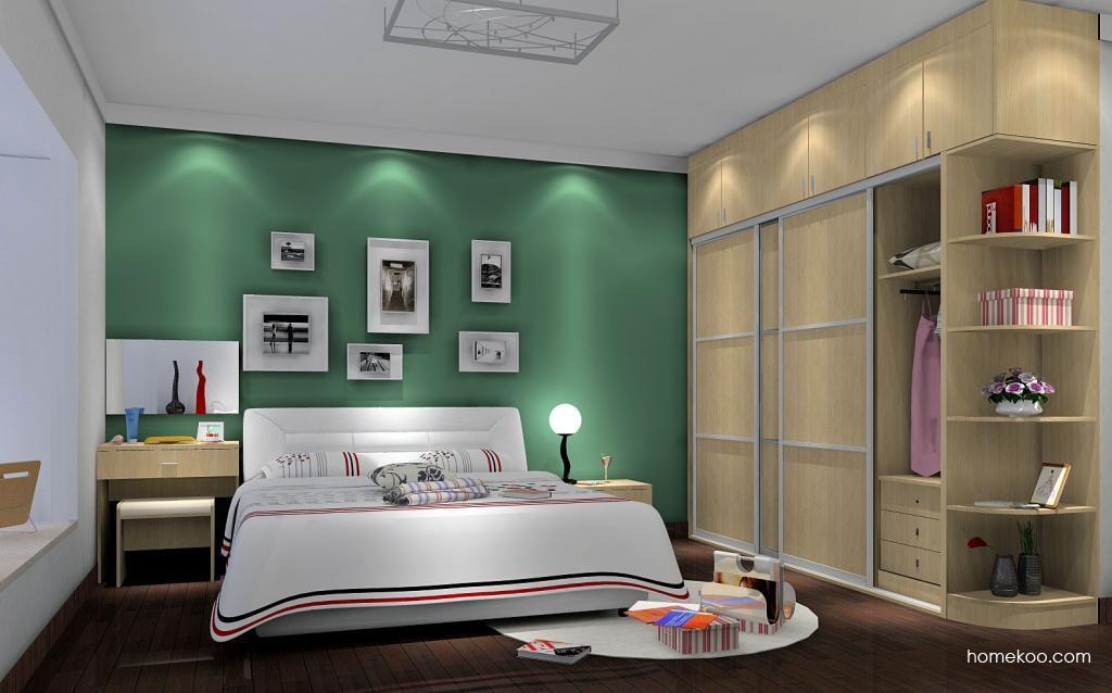 新实用主义卧房家具A6323