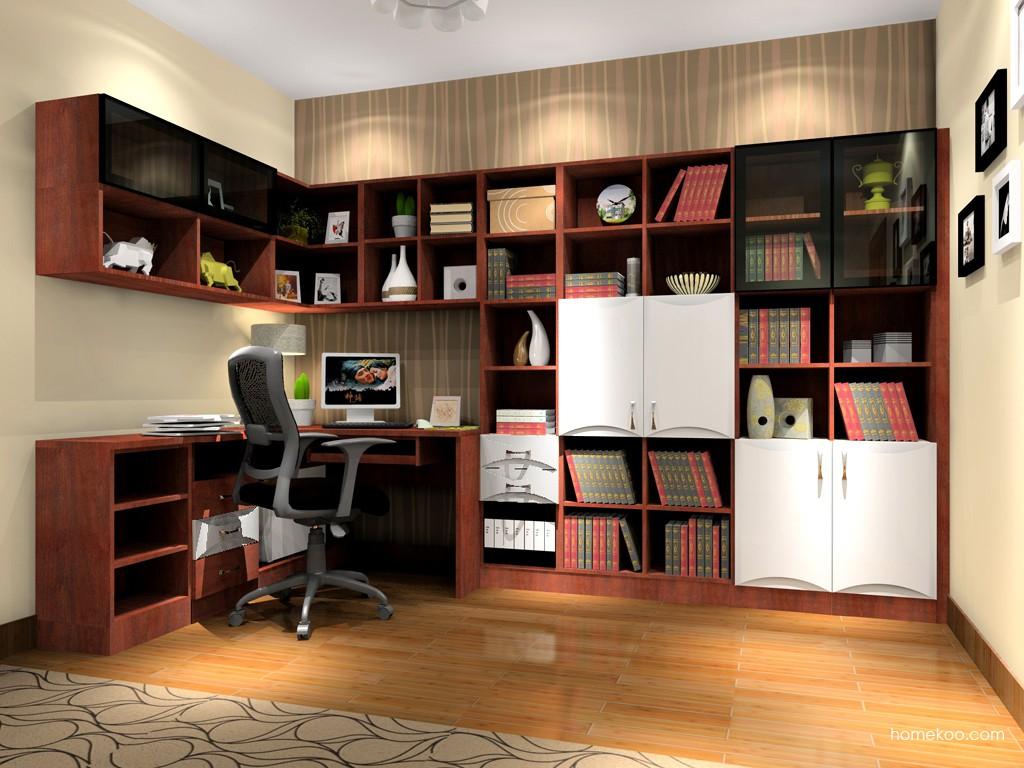 挪威月色书房家具C3573