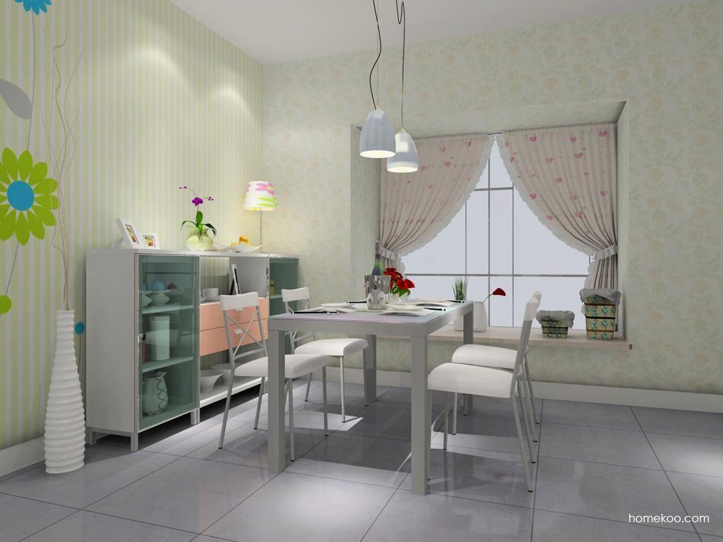 浪漫主义餐厅家具E0854