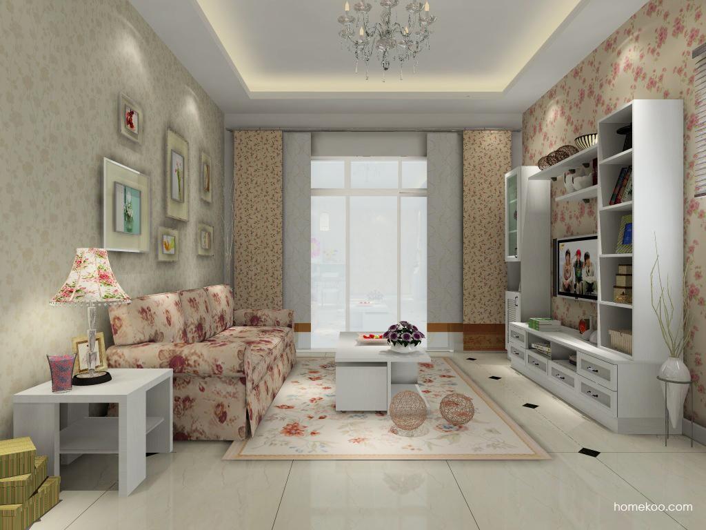 韩式田园客厅家具D0625
