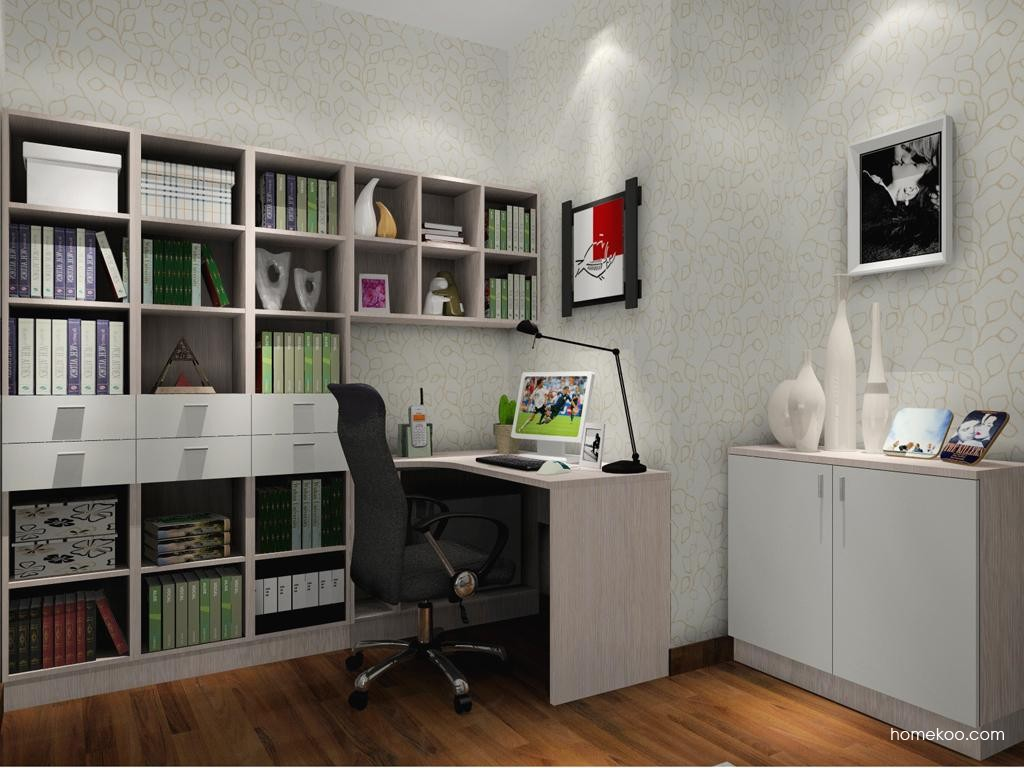 新实用主义书房家具C3598