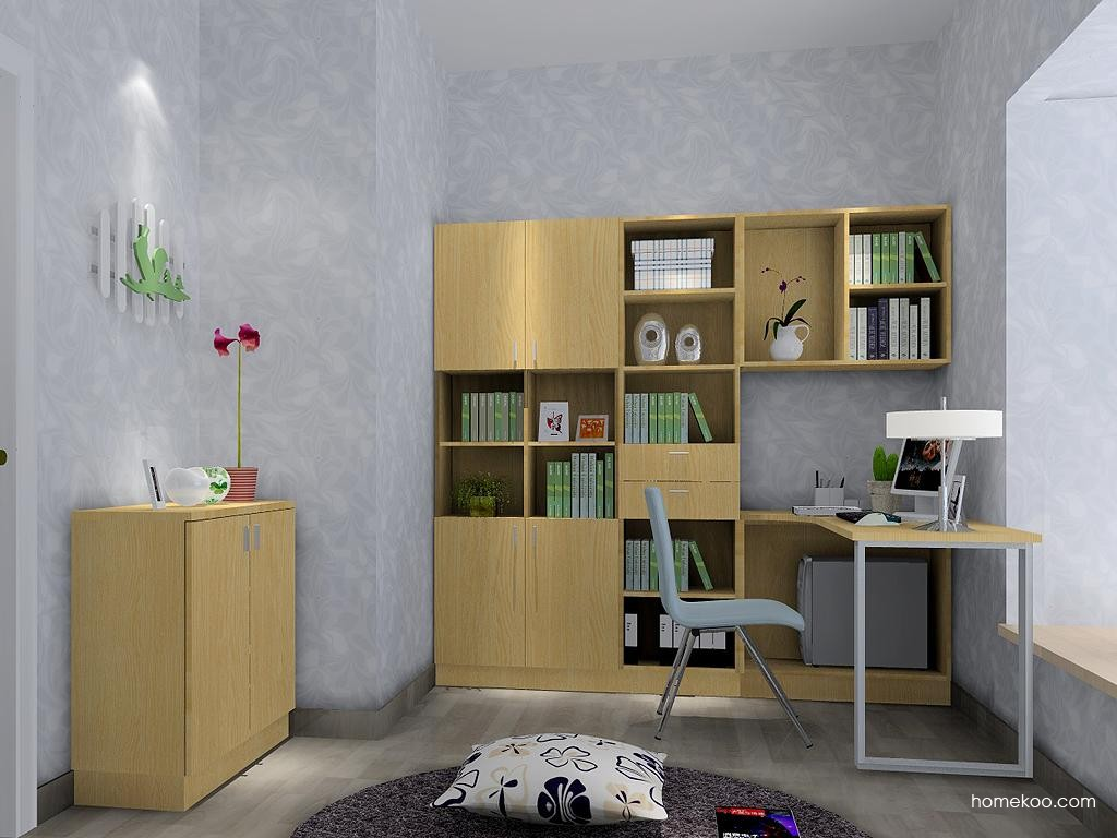 新实用主义书房家具C3615