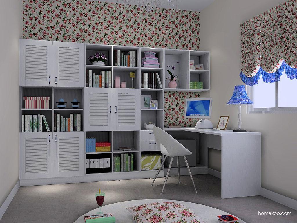 韩式田园书房家具C3613