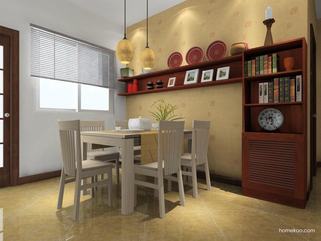 新中式主义餐厅家具E0874