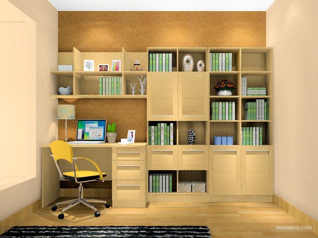 丹麦本色书房家具C3614