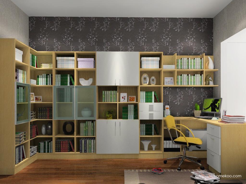 新实用主义书房家具C3619