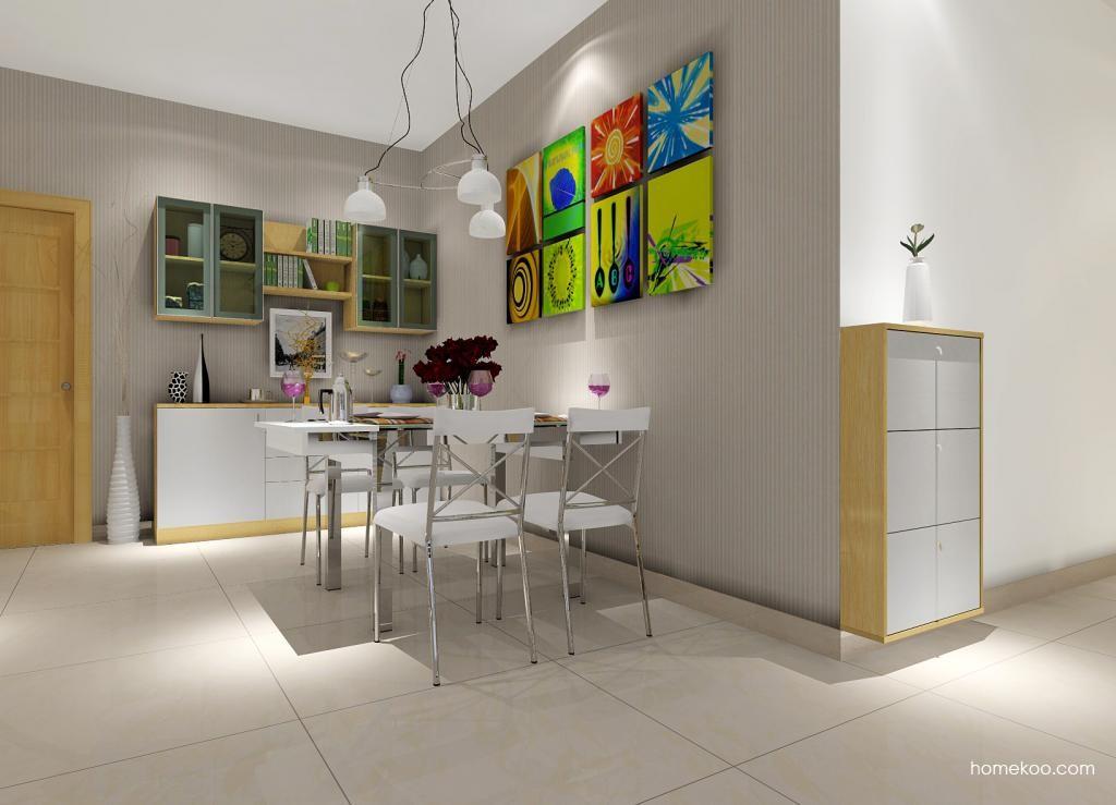 新实用主义餐厅家具E0890