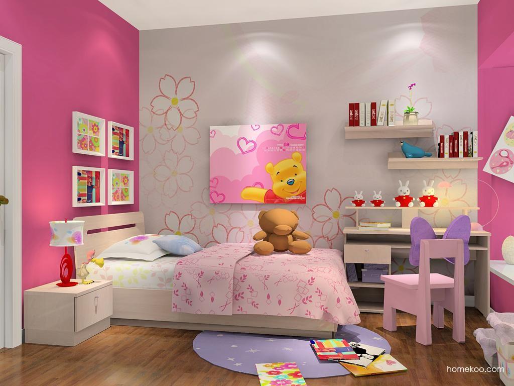 女孩的梦卧房家具B6436