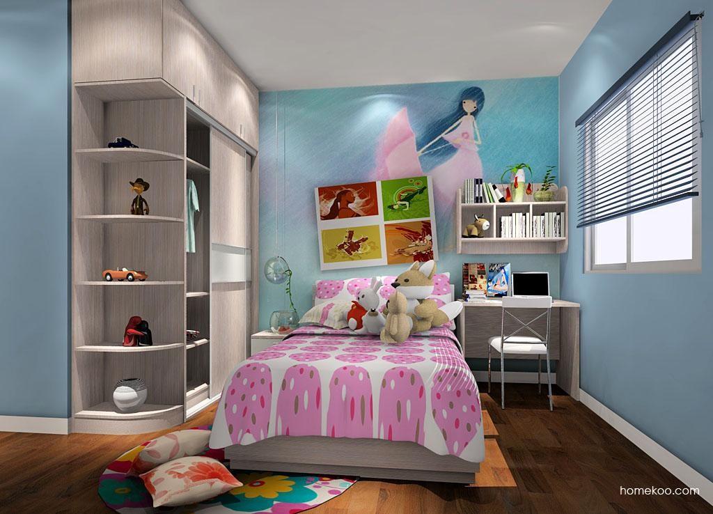 女孩的梦青少年房B3984