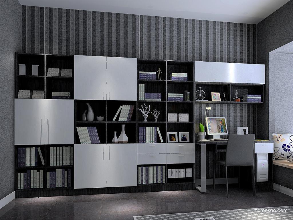 简约主义书房家具C3642