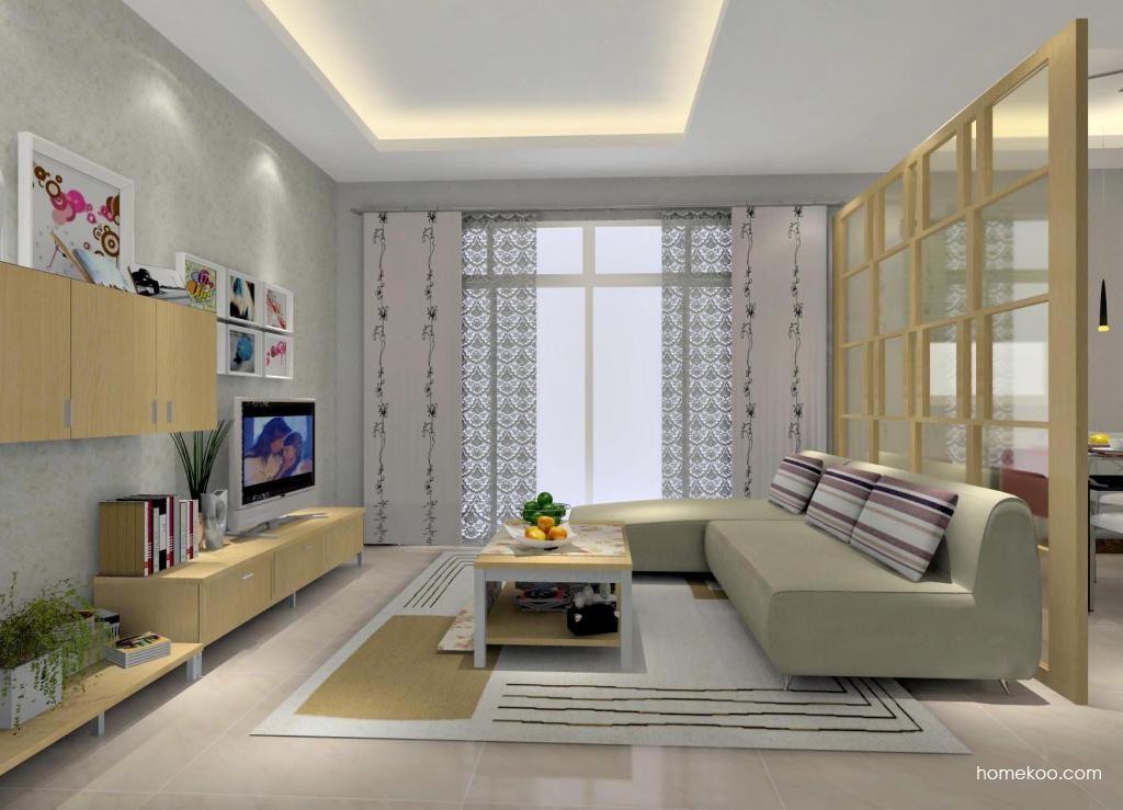 新实用主义客厅家具D0695