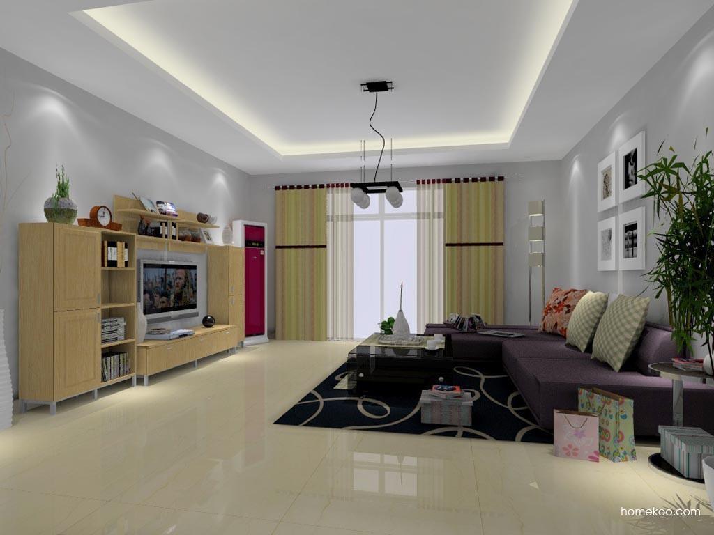 新实用主义客厅家具D0696