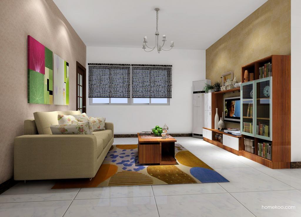 新实用主义客厅家具D0697