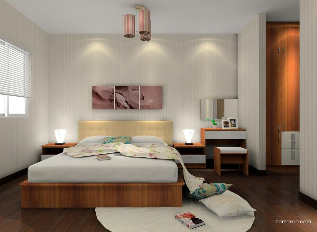 新实用主义卧房家具A6528