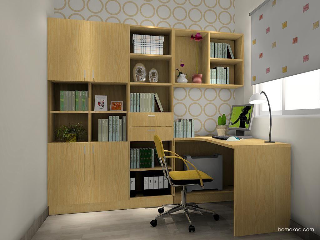 新实用主义书房家具C3648