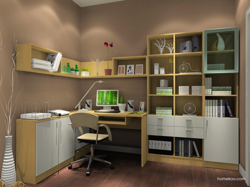 新实用主义书房家具C3657